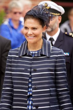 MYROYALSHOLLYWOOD FASHİON:  Celebrations to mark the 1,000 Anniversary of Skara Diocese, Skara, Sweden, August 30, 2014-Crown Princess Victoria