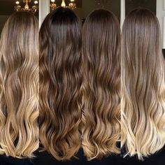 Pin on peinados goals Pin on peinados goals Brown Hair Balayage, Brown Blonde Hair, Light Brown Hair, Hair Color Balayage, Brunette Hair, Hair Highlights, Ombre Hair, Blonde Hair Looks, Curly Hair Styles