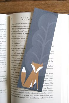 Adorable Fox Bookmarks free for downloading from lemon squeezy
