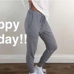 Heather Grey Skinny Joggers S L Info to follow.. Pants Track Pants & Joggers