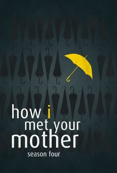 minimal movie poster - how i met your mother