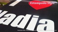 Poleras estampadas con frases, textos, logos, leyendas y números #EstampadoStyle www.facebook.com/EstampadoStyle Despacho a todo Chile