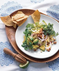 Cool Southwestern Salad With Corn and Avocado | Eating an exclusively plant-based diet can be incredibly satisfying and tasty—especially with these hearty recipes.