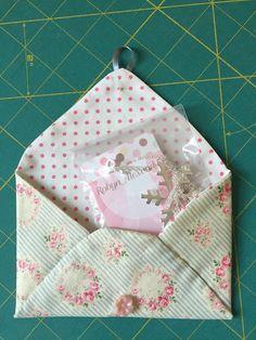 PatchworknPlay: handmade gift envelope, nice tutorial