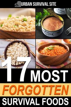 There are many survival foods that get overlooked by some preppers. Here is a list of energy-rich foods that offer a long shelf life as well as nutrition that you will need in an emergency scenario.