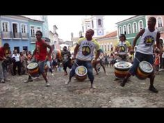 Olodum drum corps in Salvador Bahia. They were great in Brisbane too.