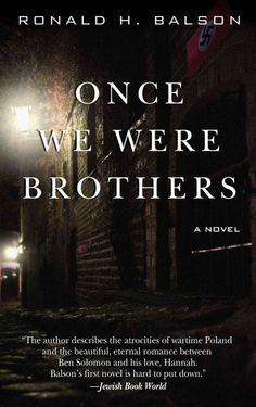 Please join this book discussion of Once We Were Brothers by Ronald H. Balson with Jackie Ranaldo, Head of Readers' Services. Here is a brief summary of the book: Elliot Rosenzweig, a wealthy Chicago philanthropist, is attending opening night at the opera. Ben Solomon, a retired Polish immigrant, makes his way through the crowd and shoves a gun in Rosenzweig's face, denouncing him as former SS officer. Rosenzweig uses his enormous influence to get Solomon released from jail, but Solomon....