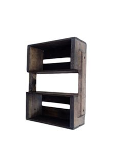 New wall hanging shelves wooden crates ideas Small Wooden Crates, Wooden Crate Shelves, Stone Wall Design, Wall Hanging Shelves, Wall Paper Phone, Kitchen Wall Tiles, Wall Drawing, Wall Fixtures, Diy Wood Projects
