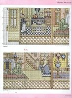 "Gallery.ru / natalytretyak - Альбом ""Doll's House Cross Stitch Gold 54"""