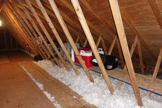 creating attic storage space