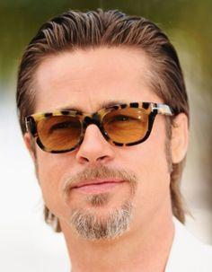 Saiba qual o modelo de óculos certo para o seu formato de rosto. Sunglasses. Óculos de sol. Brad Pitt. Fashiontown