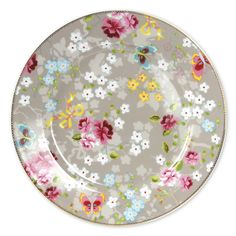 Chinese Rose Khaki Large Plate Set of 2 via Layla Grayce