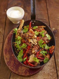Spicy sticky chicken | Jamie Oliver