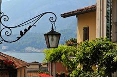 Light fixture in Lake Como