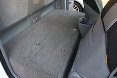 show me your storage for extra/access cabs? Truck Bed Storage, Can Storage, Custom Tacoma, Truck Bed Camping, Truck Camper, Tacoma Access Cab, Dog Travel Crate, Truck Bed Date, Truck Mods