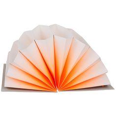 Hay Plisse arkiv A4 oransje