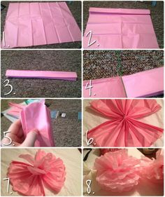 The Queen of Everything Else: DIY Tissue Pom Poms