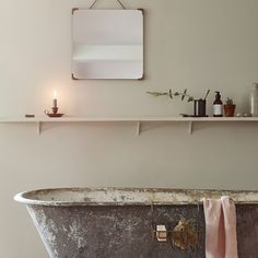 Some effortless and inspiring, others hard work and frustrating. But, no matter the kind of Monday you have, you can always look forward to a long hot soak that will set everything right. Bathroom Inspiration, Interior Inspiration, Interior Ideas, Country House Interior, Country Homes, Bathroom Plans, Classic Bathroom, Weekend Plans, Fashion Room