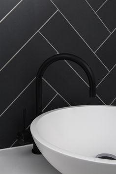 Matte black tapware | West Beach Residence | Adelaide Australia | BILT | Michelle Ranaldo