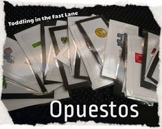 For the Love of Spanish: Linky Lunes Número 4 // Tips and Ideas on Being Bilingual - My lesson on Opuestos was featured!