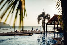 Private pool located just beside the beach at Adang Island Resort, Koh Adang, Thailand