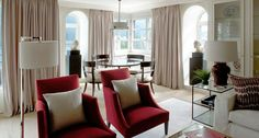 Mark Gillette Interior Design: St Moritz Ski Lodge