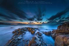The Sea Cooling by Golfzx Cloud, via 500px