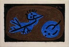 Blue-Bird-Pumpkin, 1939   Paul Klee (German (born Switzerland), Münchenbuchsee 1879–1940 Muralto-Locarno)