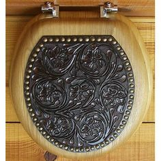 Toilet seat from Appaloosa Trading Co