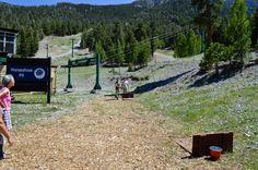 Horseshoe pit at Las Vegas Ski and Snowboard Resort. Group Picnic / Group Venue / Summer Venue / Company Picnic / BBQ / Outdoor Venue