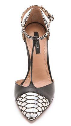 Rachel Zoe t-strap heels. Want.