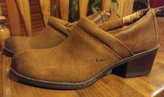 Born Concept Clog Size US 8.5 M/W B.O.C KATY Brown Tan Leather BC2546 Euro 40 #BornConcept #Clog #Casual