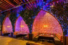 wooden plant tree lattice ceiling garden - Google Search