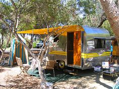 1948 TERRY RAMBLER Trailer - Love the tent also!