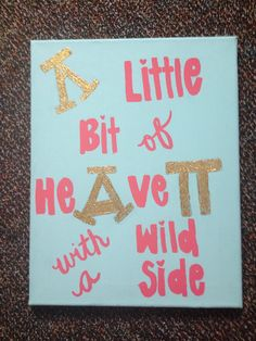 Alpha delta pi craft for my little!