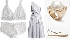The secret to clean and easy summer style? Mix and match your whites