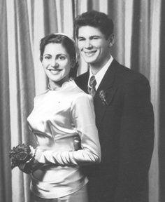 Charles & Harriett Bronson Wedding Photo, 1949
