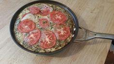 egg white fritatta