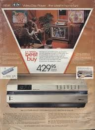 video disc player - Wow!