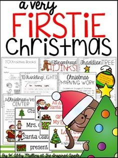 Teachers! Are you ready for Christmas in YOUR classroom? This product is FULL of fun ideas for you to include during the month of December in your kindergarten or first grade classroom. It includes a writing center, family activity, math poem, book respon