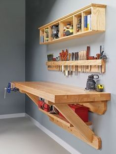 Small Garage Organization- CLICK THE PIC for Many Garage Storage Ideas. #garage #garageorganization