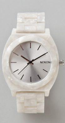 Nixon actetate watch, Shopbop, via Fellt.com