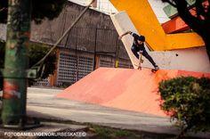 Luis Márquez - No comply to Craislide Foto: Daniel Vigenor