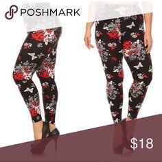 New Floral Print Legging Will add description shortly Pants Leggings
