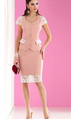 Lace Top Dress, Peplum Dress, Office Uniform For Women, Chic, Dresses, Fashion, Women Blazer, Blouse And Skirt, Skirts