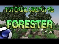 (4)  PLUGIN FORESTER PARA CINEMA 4D - TUTORIAL - YouTube