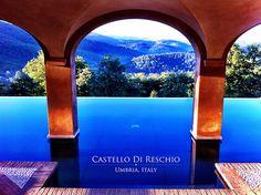 Castello Di Reschio in Umbria, Italy