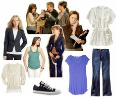 Fashion and style tips for college girls inspired by Rory Gilmore's wardrobe from Gilmore Girls. Learn how to dress like Rory, and how to add polish to your looks.