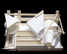 STACK : sculpture model.