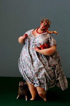 Катины толстяки(папье-маше). Обсуждение на LiveInternet - Российский Сервис Онлайн-Дневников